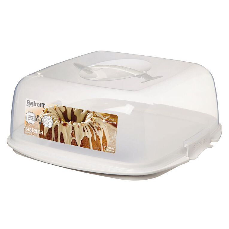 Sistema Bake It Cake Box Cream 8.8L, , hi-res