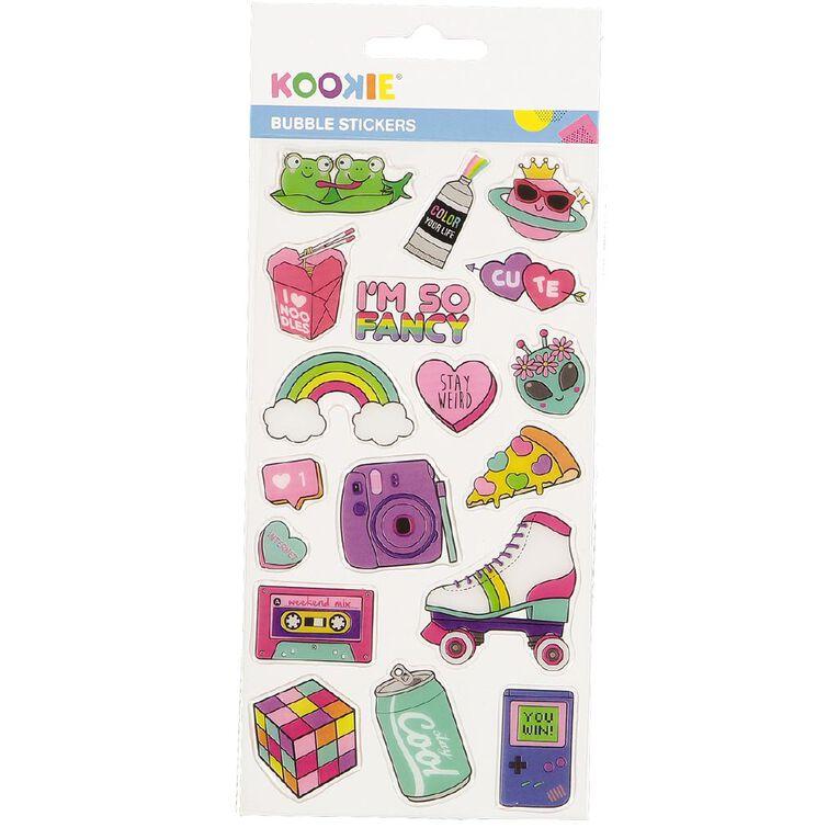 Kookie Sticker Sheet Epoxy Assorted, , hi-res