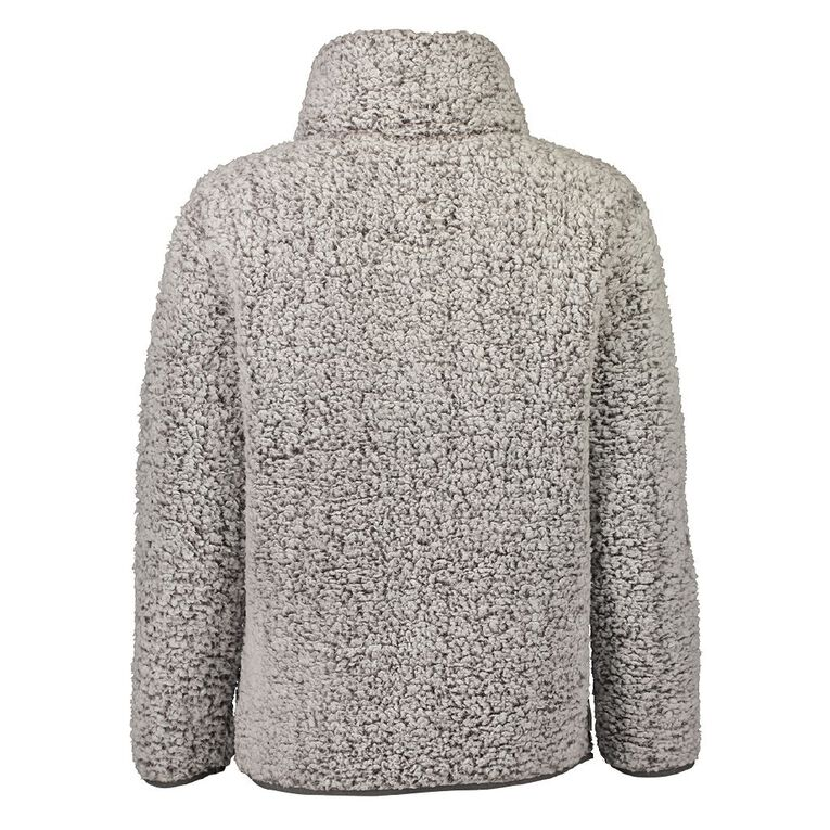 Love to Lounge Sherpa Sleep Pull Over Jumper, Grey, hi-res