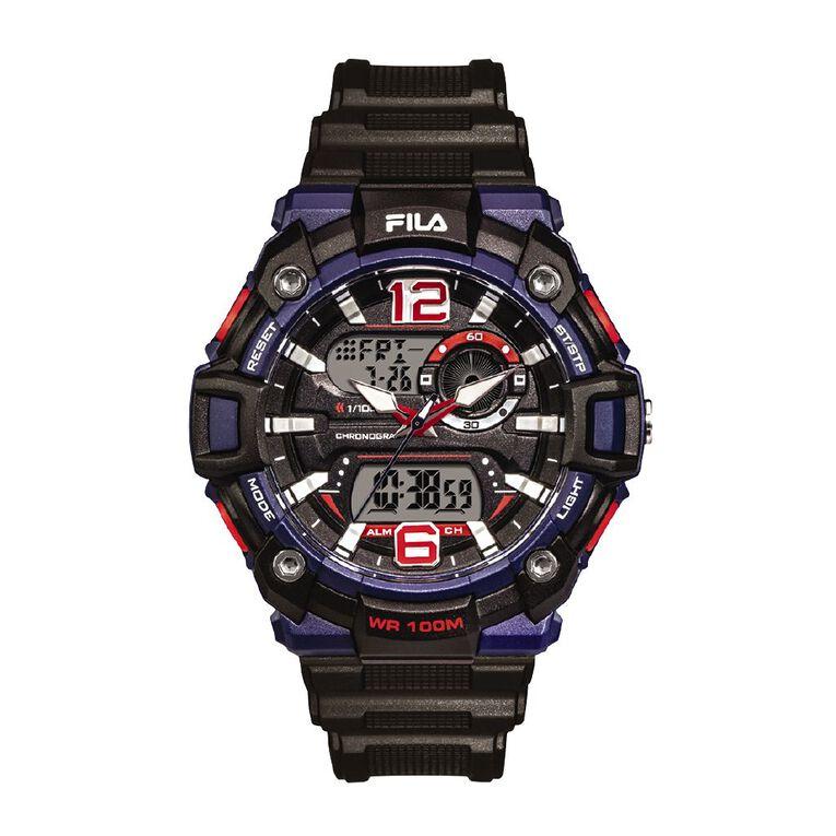 Fila Analogue Digital 10ATM Water Resistant Watch 38-189-001, , hi-res