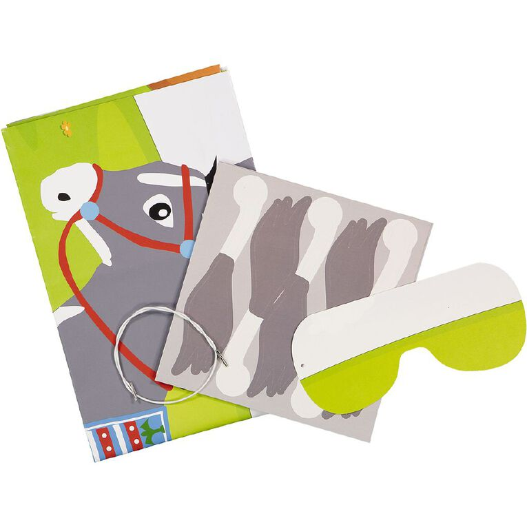 Party Inc Pin the Tail on the Donkey Game, , hi-res