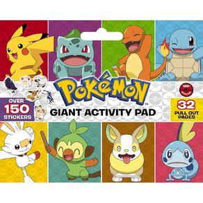 Pokemon: Giant Activity Pad