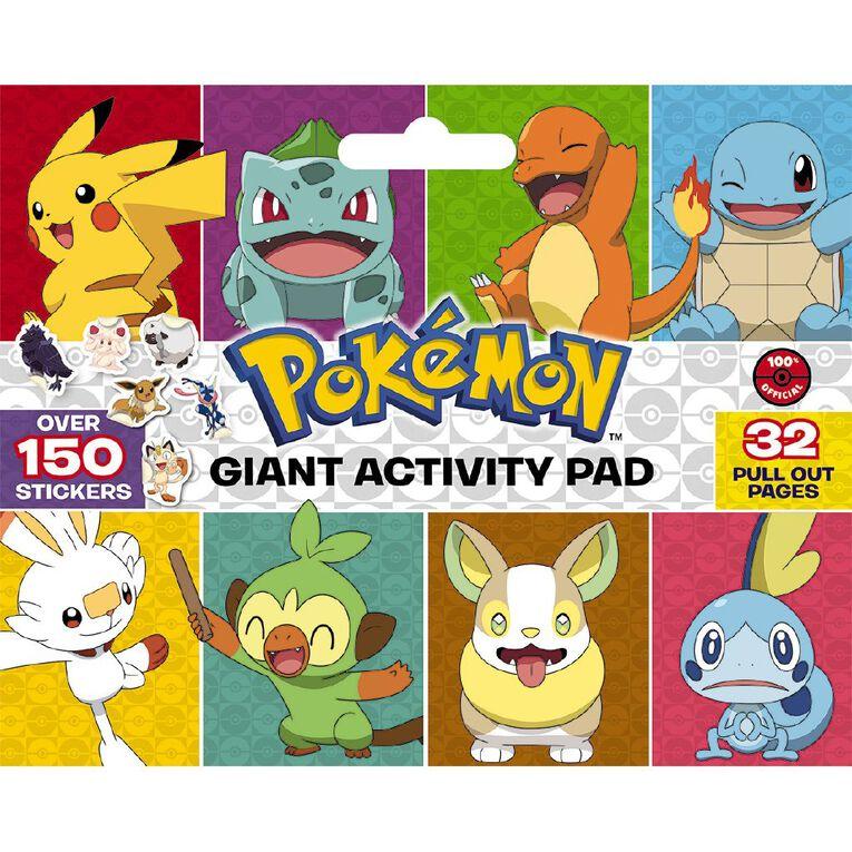 Pokemon: Giant Activity Pad, , hi-res