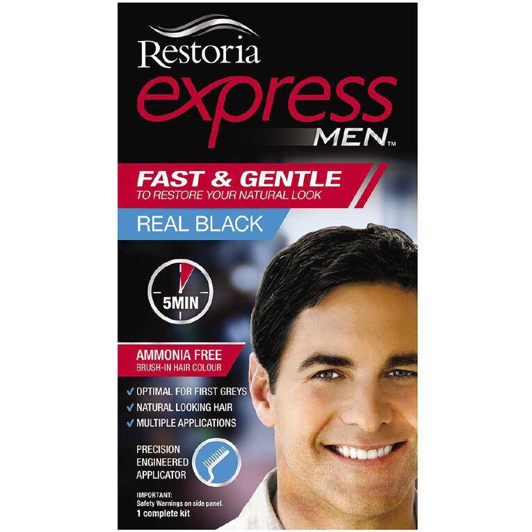 Restoria Express Men Real Black, , hi-res