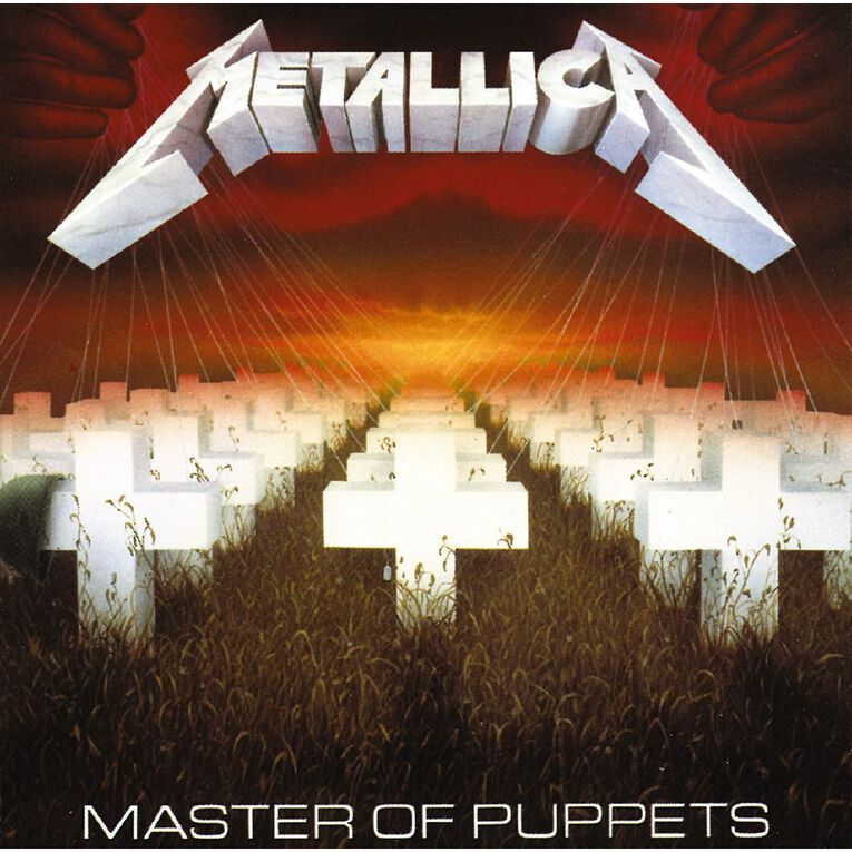 Master Of Puppets Remastered CD by Metallica 1Disc, , hi-res
