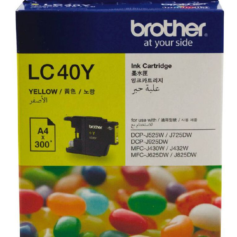 Brother Ink LC40 Yellow (300 Pages), , hi-res