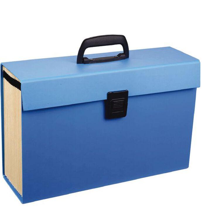 WS Concertina File 19 Pocket Blue, , hi-res
