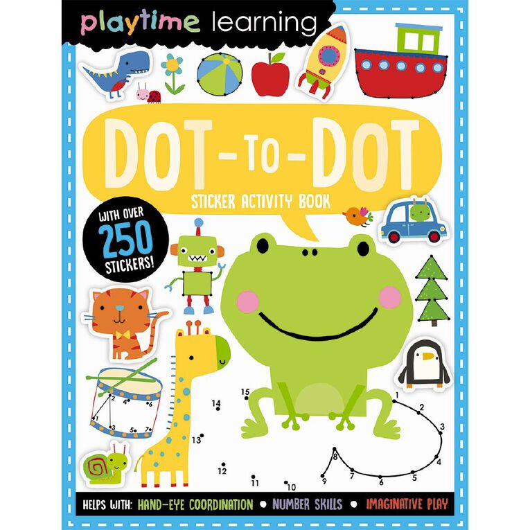 Playtime Learning - Dot-to-Dot, , hi-res