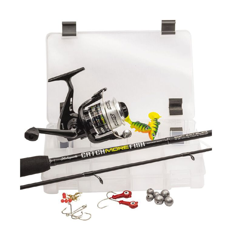 Shakespeare Catch More Fish Softbait Slayer Kit, , hi-res image number null