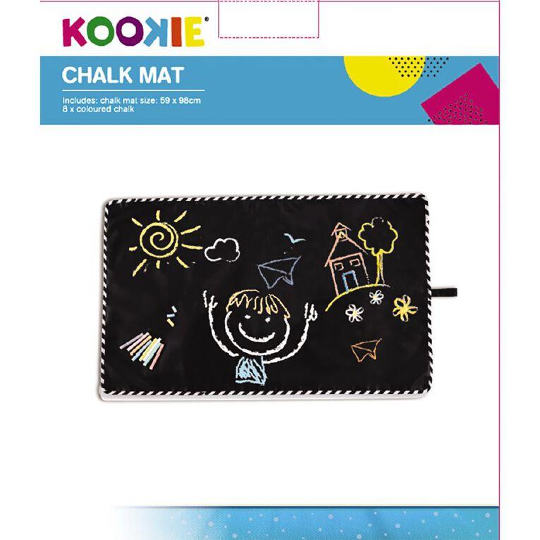 Kookie Chalk Activity Mat Set 59cm x 98cm, , hi-res