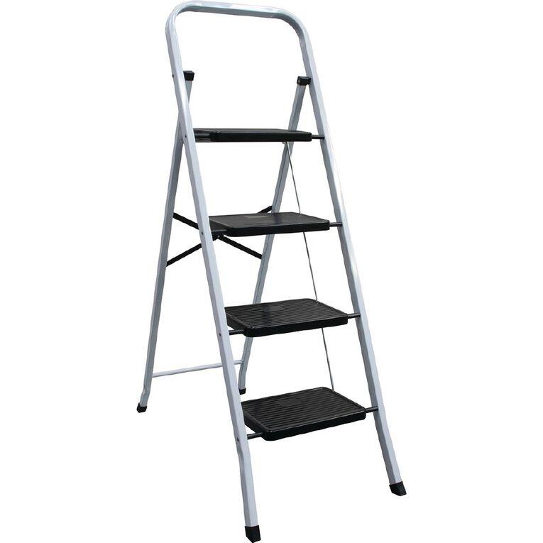 Bulldog 4 Step Steel Ladder, , hi-res