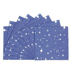 Party Inc Star Napkins 2 Ply 33cm 20 Pack