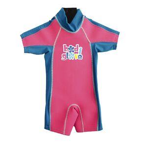 Body Glove Kids Rash Suit Pink Size 6