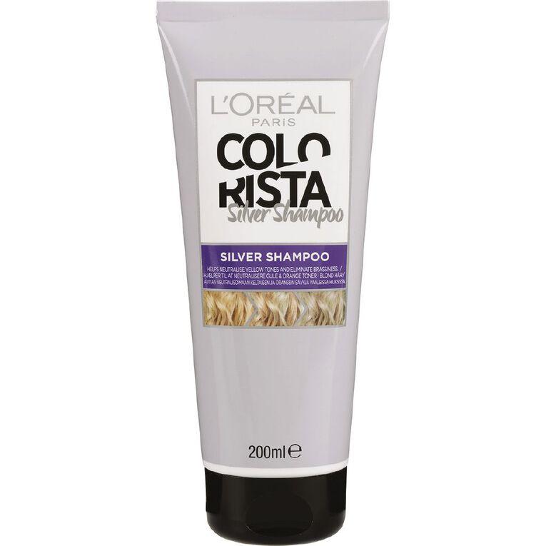 L'Oreal Paris Colorista Silver Toner Shampoo 200mL, , hi-res