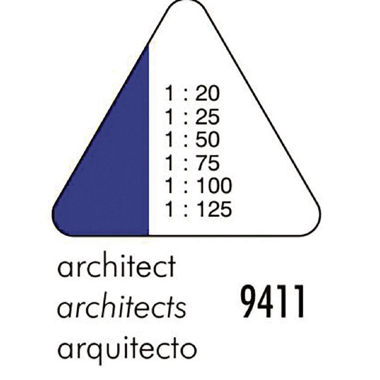 Standardgraph 9410 Tri Scale Ruler Architect Clear, , hi-res