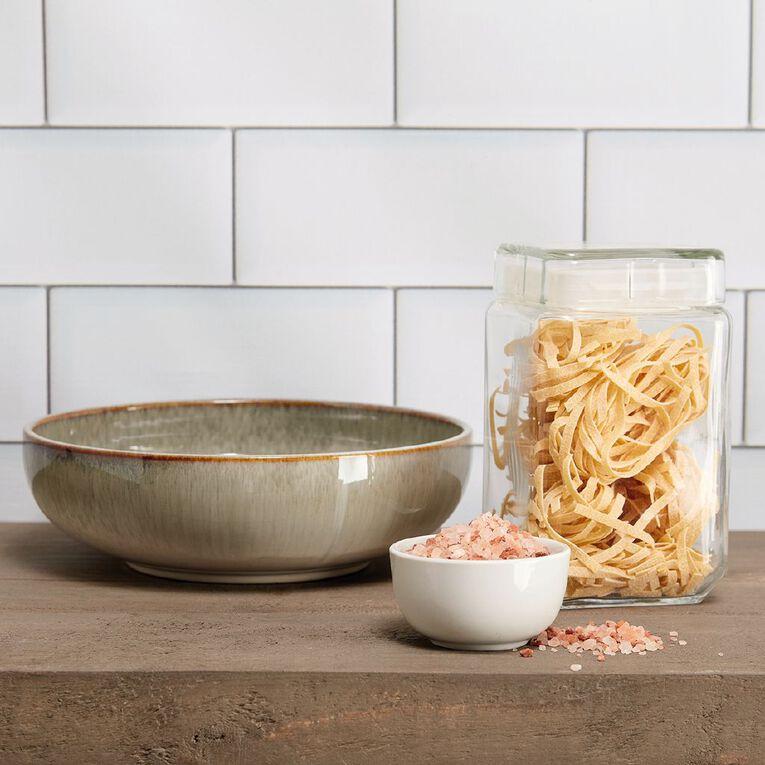 Living & Co Kina Glazed Serve Bowl Green 27cm, , hi-res