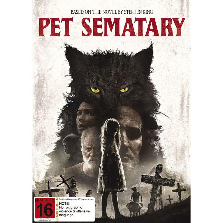 Pet Semetary (2019) DVD 1Disc, , hi-res