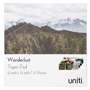 Uniti Wanderlust Paper Pad 12in x 12in