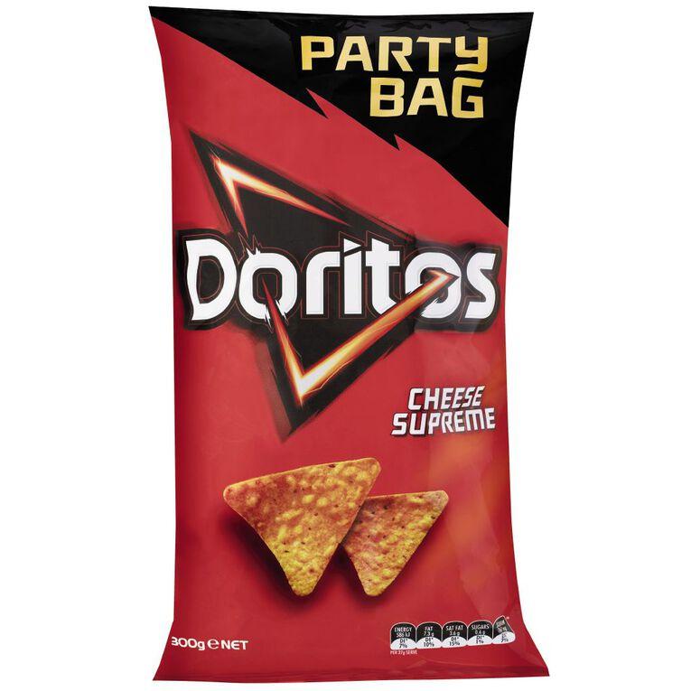Doritos Cheese Supreme Party Bag 300g, , hi-res