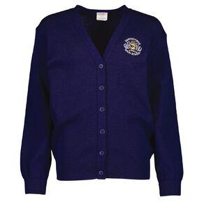 Schooltex Dannevirke High School Cardigan with Embroidery