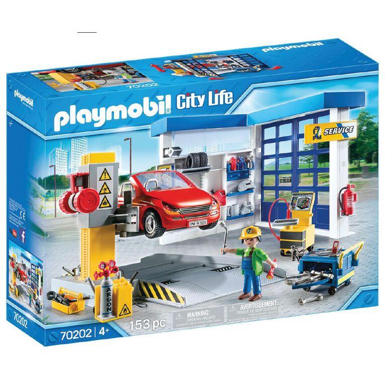 Playmobil Car Repair Garage, , hi-res
