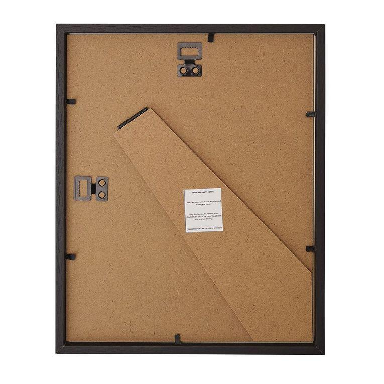 Living & Co Box Frame Black 8in x 10in, Black, hi-res