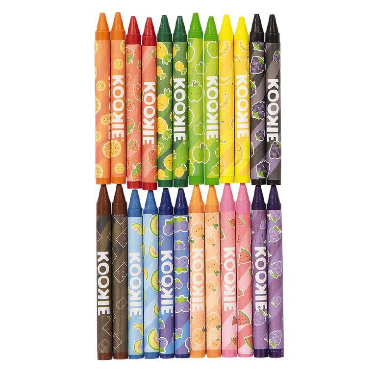 Kookie Scented Crayons 24 Pack, , hi-res