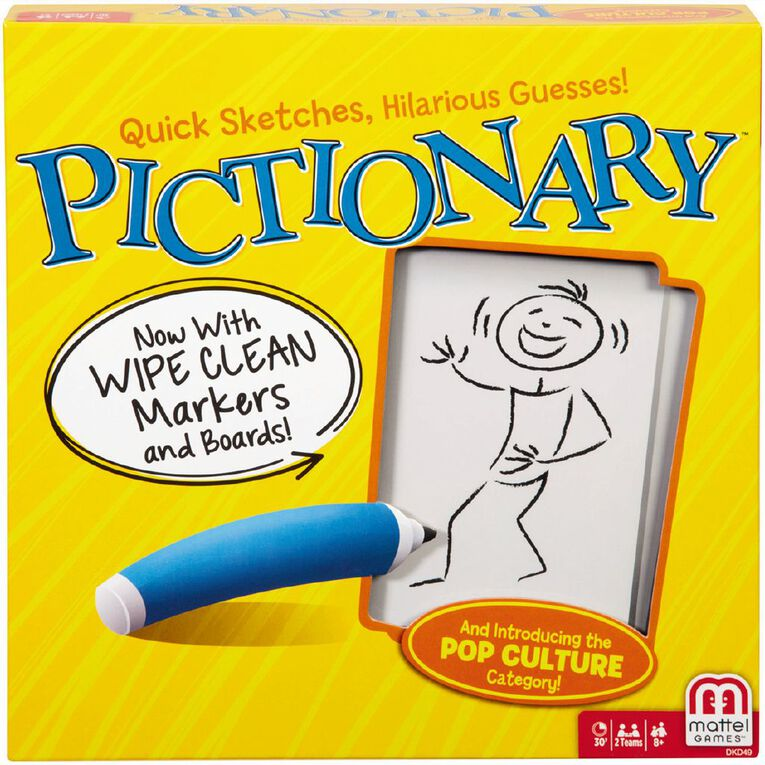 Pictionary Board Game, , hi-res