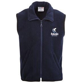 Schooltex Rakaia Polar Fleece Vest with Embroidery