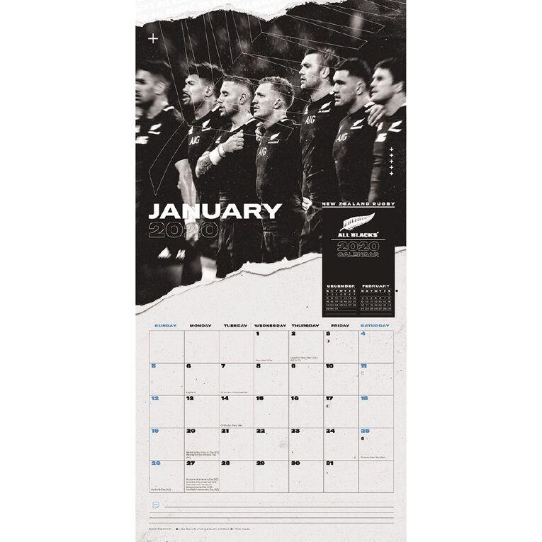 BrownTrout 2021 Square Wall Calendar All Blacks, , hi-res