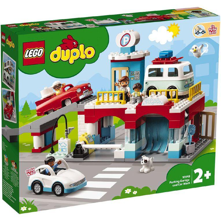 LEGO DUPLO Parking Garage and Car Wash 10948, , hi-res
