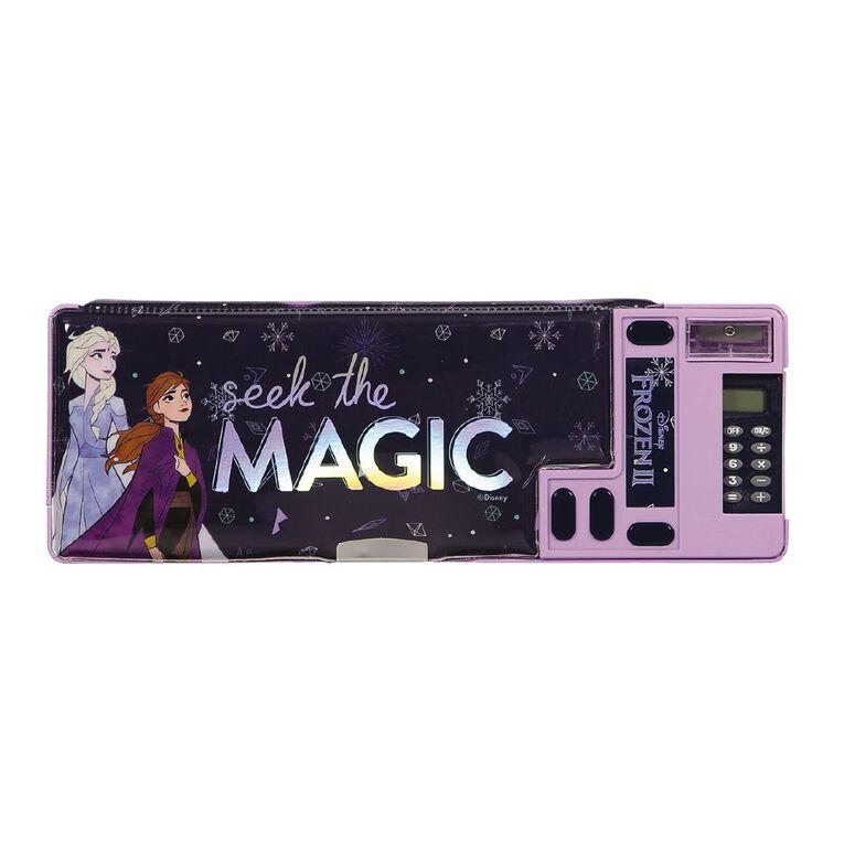 Frozen Disney Popout Pencil Case Purple, , hi-res