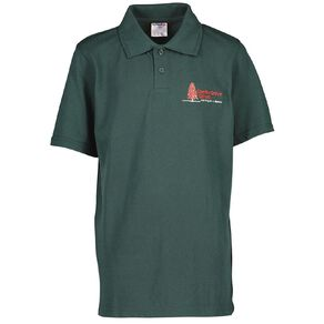 Schooltex Conifer Grove Short Sleeve Polo with Embroidery