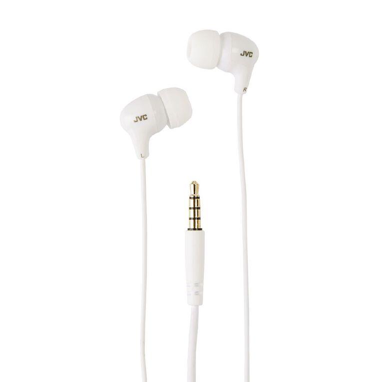 JVC Earbuds White, , hi-res