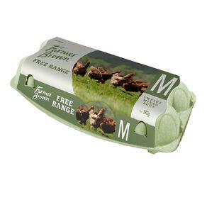 Farmer Brown Free Range Mixed Grade Eggs 12 Pack
