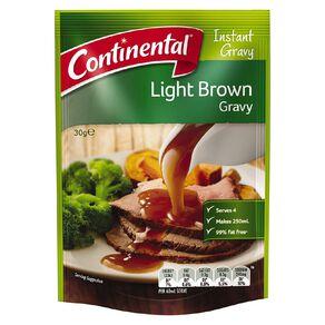 Continental Gravy Light Brown 30g