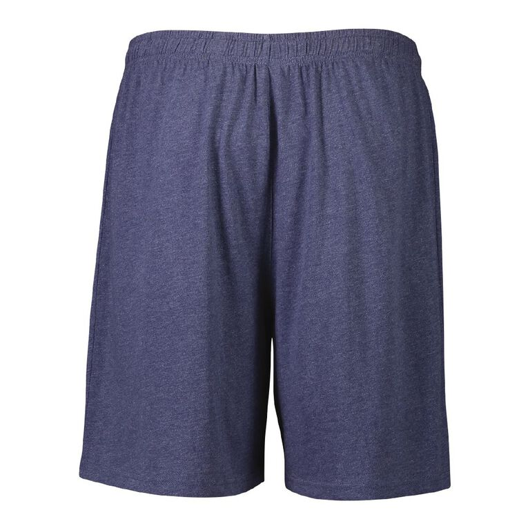 H&H Men's Plain Knit Shorts, Denim, hi-res image number null