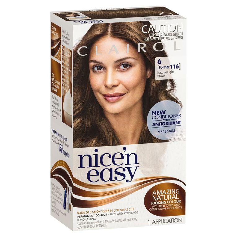 Nice 'n Easy Light Brown 6 (former 116), , hi-res
