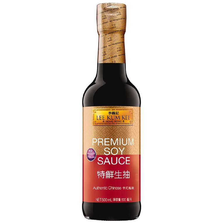 Lee Kum Kee Premium Soy Sauce 500ml, , hi-res