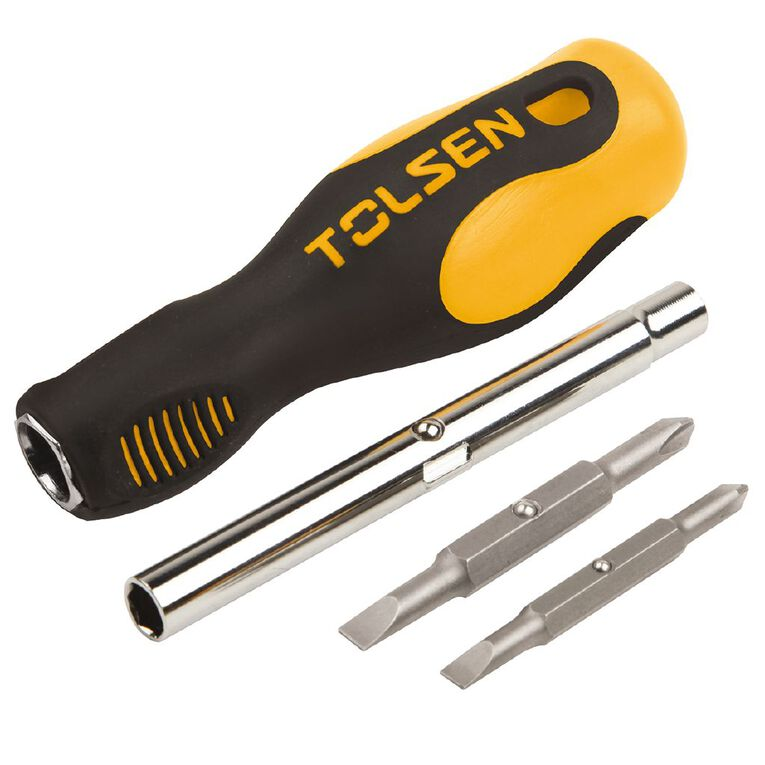 Tolsen 6 in 1 Screwdriver Set, , hi-res