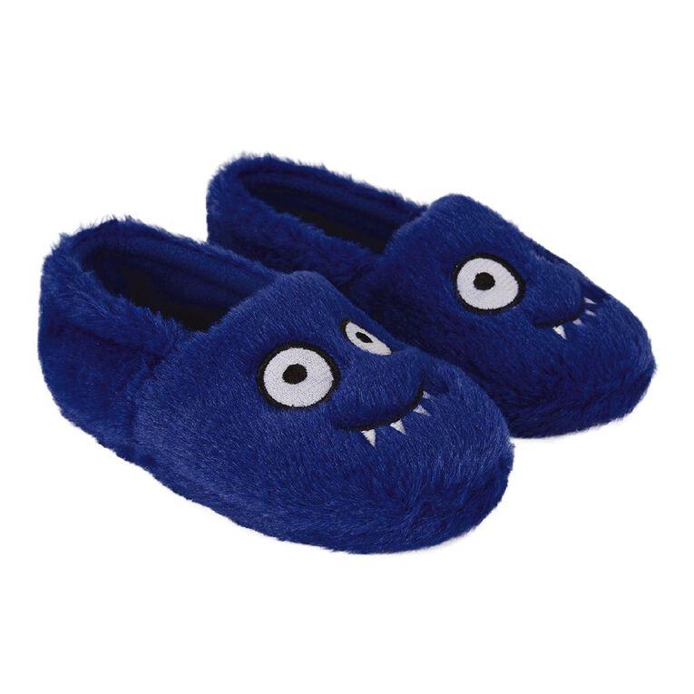Young Original Kids' Frankie Slippers, Blue, hi-res
