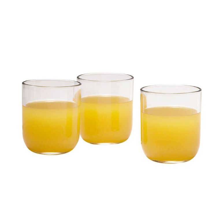 Living & Co Rounded Double Old Fashion Glass Tumblers 340ml 6 Pack, , hi-res