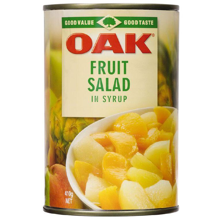 Oak Fruit Salad in Syrup 410g, , hi-res