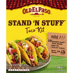 Old El Paso StandNStuff Taco Kit 295g 295g