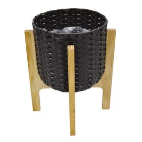 Kiwi Garden Weave Pot With Stand