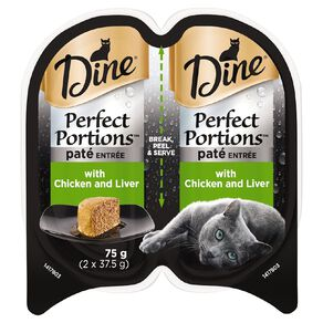 Dine Perfect Portions Pate Entree with Chicken and Liver 75g