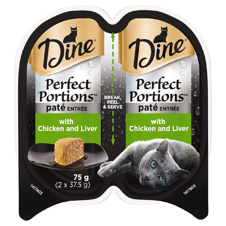 Dine Perfect Portions Pate Entree with Chicken and Liver 75g, , hi-res