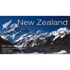 Bartel 2021 Desk Calendar 205x102mm Spectacular New Zealand