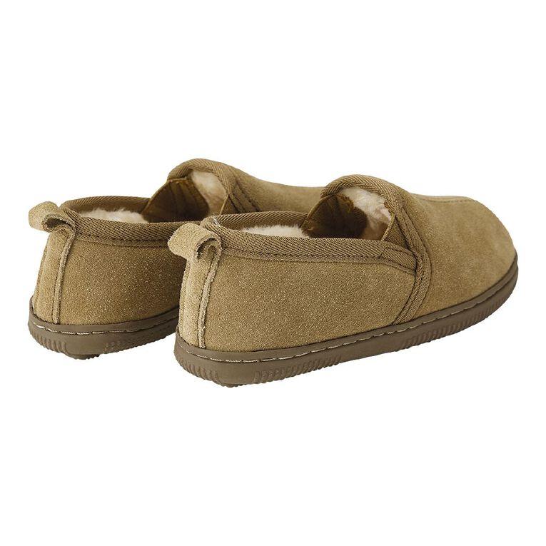 Young Original Kid's Calm Slippers, Brown, hi-res