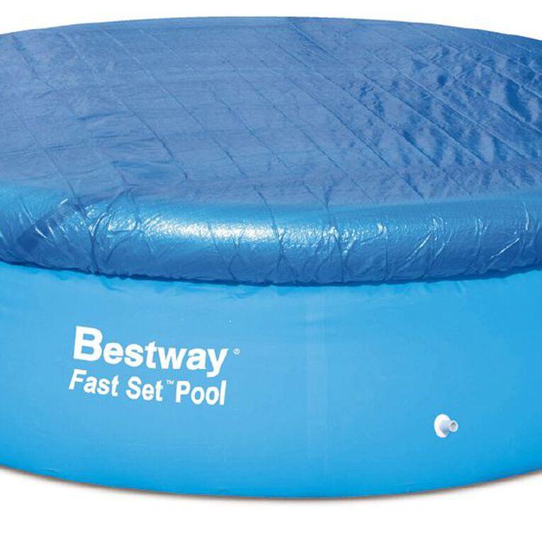 Bestway Fast Set Pool Cover 10ft, , hi-res